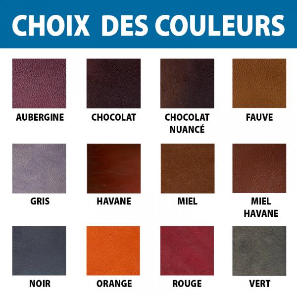 Choix des couleurs cuirs revue