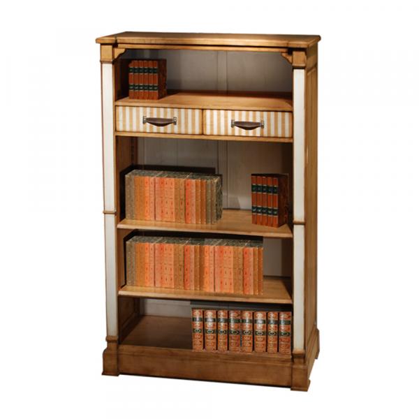 Bibliothèque Émilie Merisier doré - Nougat
